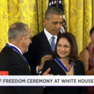 VIDEO: Stephen Sondheim, Gloria & Emilio Estefan Receive 2015 Medal of Freedom