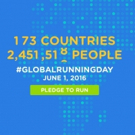 Fitness Tip of the Day: Celebrate Global Running Day