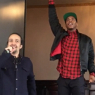 STAGE TUBE: Lil Buck Breaks Down New 'Schuyler Sisters' Remix at #Ham4Ham!