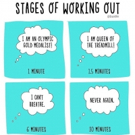 Fitness Tip of the Day: Stages of Working Out
