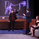 VIDEO: Orlando Bloom and Zoe Lister-Jones Face Off in Virtual Reality Pictionary