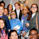 Photo Flash: R.Evolucion Latina's KIDS BEYOND BROADWAY Campers Meet the Stars of ON YOUR FEET!