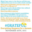 BWW Interview: Annoying Actor Friend Discusses New Book #GRATEFUL, Why Twitter is out to Get Him/Her