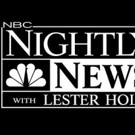 NBC NIGHTLY NEWS WITH LESTER HOLT Wins 35th Consecutive Sweep