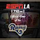 ESPNLA Named Official Flagship Radio Home of The Los Angeles Rams