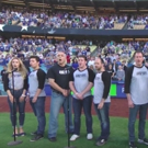 VIDEO: Cast of JERSEY BOYS Sing National Anthem at Dodgers Game