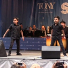 BWW TV: The Boys of ON YOUR FEET! Conga Over to Stars on the Alley!