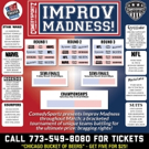 ComedySportz Hosts #IMPROVMADNESS This Weekend