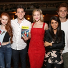 Photo Coverage: Cast of Teen Drama RIVERDALE Visits Broadway's BANDSTAND