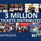 Vet Tix Distributes 3 Millionth Event Ticket to Military Community