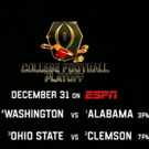 ESPN to Exclusively Televise College Football Playoff, Today