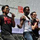 BWW TV: Watch as KINKY BOOTS Company Struts Through Bryant Park!