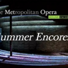 LES PECHEUERS DE PERLES, CARMEN and More Set for The Met Live in HD's 2017 Summer Encore Series