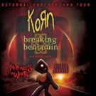 KORN Announces the 'Nocturnal Underground Tour' This Fall with Breaking Benjamin
