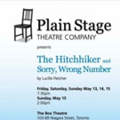 Plain Stage Theatre Company to Present THE HITCHHIKER and SORRY, WRONG NUMBER Next Weekend