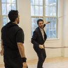 Photo Flash: In Rehearsal For Waterwell's HAMLET Starring Arian Moayed, Sherie Rene Scott, and Micah Stock