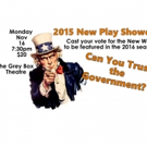 Throughline Theatre to Put on 2015 New Play Showcase Next Week