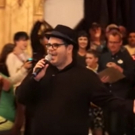 VIDEO: Josh Gad Surprises at 'Be Our Guest' Restaurant at Magic Kingdom
