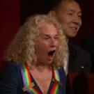 Photo Flash: President Obama Sheds Tear, Carole King Overwhelmed at Aretha Franklin Performance