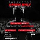 Armin van Buuren Announces Live Stream of Sold-Out THE BEST OF ARMIN ONLY Arena Show