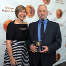 Photo Flash: Stephen Sondheim Receives 2015 Carl Sandburg Literary Award in Chicago