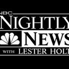 NBC NIGHTLY NEWS is #1 Across the Board for Third Week