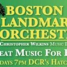 Boston Landmarks Orchestra Announces 2016 Summer Season