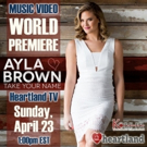 Ayla Brown 'Take Your Name' World Premiere on Heartland TV
