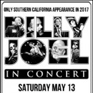 Billy Joel in Concert at Dodger Stadium This May; Tix on Sale 1/13