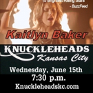 Country Singer Kaitlyn Baker to Perform at Knuckleheads in Kansas City, 6/15