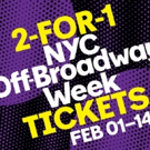 NYC Off-Broadway Week: 2-for-1 Tickets to Over 30 Shows on Sale Now!