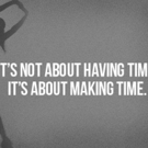 Fitness Tip of the Day: Make Time