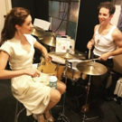 Photo Flash: BANDSTAND Gets a Lesson in Drumming and More Saturday Intermission Pics!