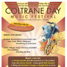 Third Annual Coltrane Day Music Festival Set for Today