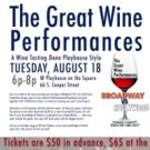 The Great Wine Performances at Playhouse on the Square Set for Today