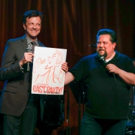 Photo Coverage: Justin 'Squigs' Robertson Draws at Jim Caruso's Cast Party