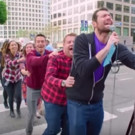VIDEO: Watch James Corden & Billy Eichner in Carpool Karaoke-Inspired 'Curbside Conga Line'