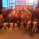 Photo Flash: Rutgers University Seeing Eye Puppy Training Club Visits A DOG STORY Off-Broadway