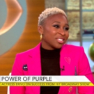 VIDEO: Cynthia Erivo Talks Lasting Impact of THE COLOR PURPLE on CBS