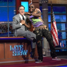 VIDEO: Stephen Colbert Raps with Wyclef Jean During LATE SHOW Commercial Break!