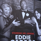 Up on the Marquee: Eddie George Gets a Times Square Billboard for His CHICAGO Debut!