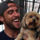 BWW Exclusive: TAILS OF BROADWAY- Josh Segarra Snuggles with Suzy!