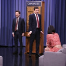 VIDEO: Kendall Jenner & Charlie Day Face Off in Charades on TONIGHT SHOW