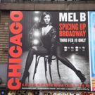 Photo Coverage: Mel B Graces Time Square in New CHICAGO Billboard