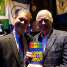 Photo Flash: Sir Tim Rice Visits Broadway's COME FROM AWAY