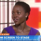 VIDEO: ECLIPSED's Lupita Nyong'o Talks Broadway Debut: 'It's More Than I Could Have Asked For'