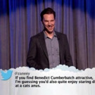 VIDEO: Benedict Cumberbatch, Kristen Bell & More Read Live 'Mean Tweets' on KIMMEL