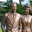 Edsel & Eleanor Ford's Legacy of Love Cast in Bronze