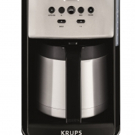 KRUPS SAVOY ET351 for the Perfect Cup of Coffee Ready First Thing in the Morning