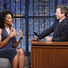 VIDEO: Sarah Jones Talks New Sex-Trafficking Comedy SELL/BUY/DATE on 'Late Night'